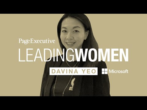 Leading Women with Page Executive | Davina Yeo, Chief of Staff, Asia Pacific at Microsoft