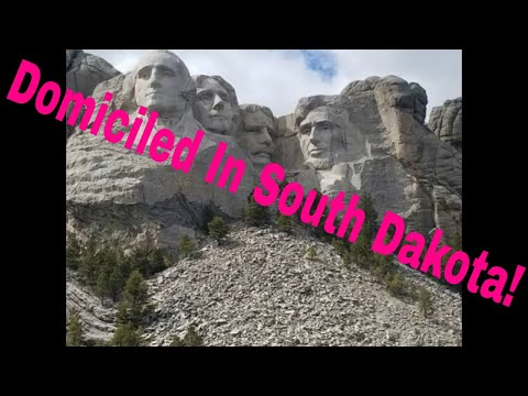 Domiciled in South Dakota and Mount Rushmore and Crazy Horse Memorials & The badlands  & Corn Palace