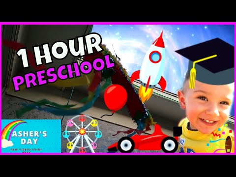 PRESCHOOL LEARNING 1 HOUR Compilation with Asher! Educational Videos