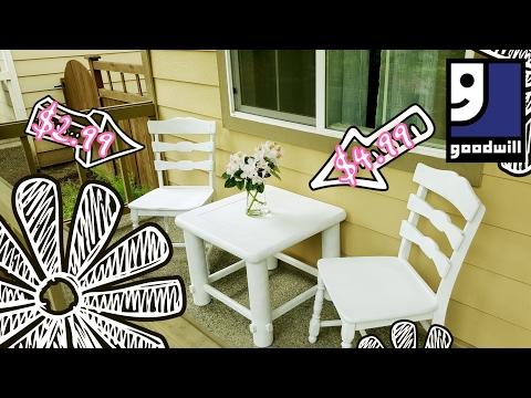 Thrifty Makeover! | Outdoor Summer Furniture (Full Ver.) + Haul