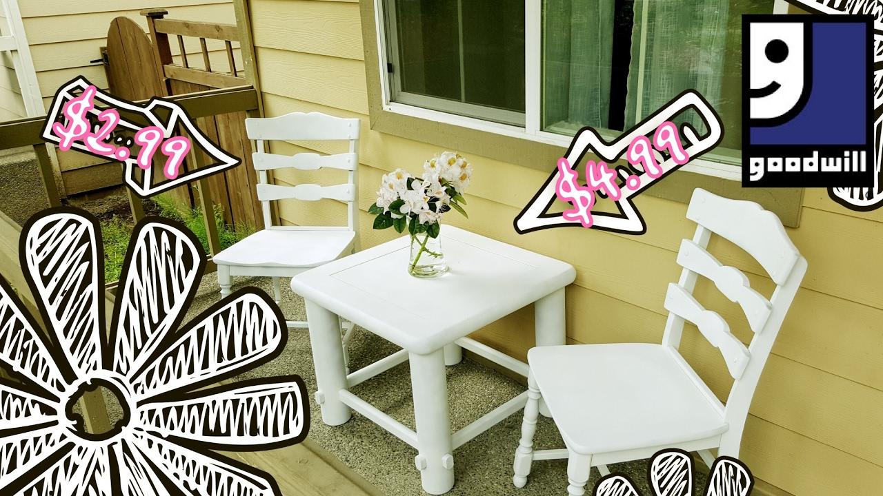 Thrifty Makeover Outdoor Summer Furniture Full Ver Haul - Summer furniture