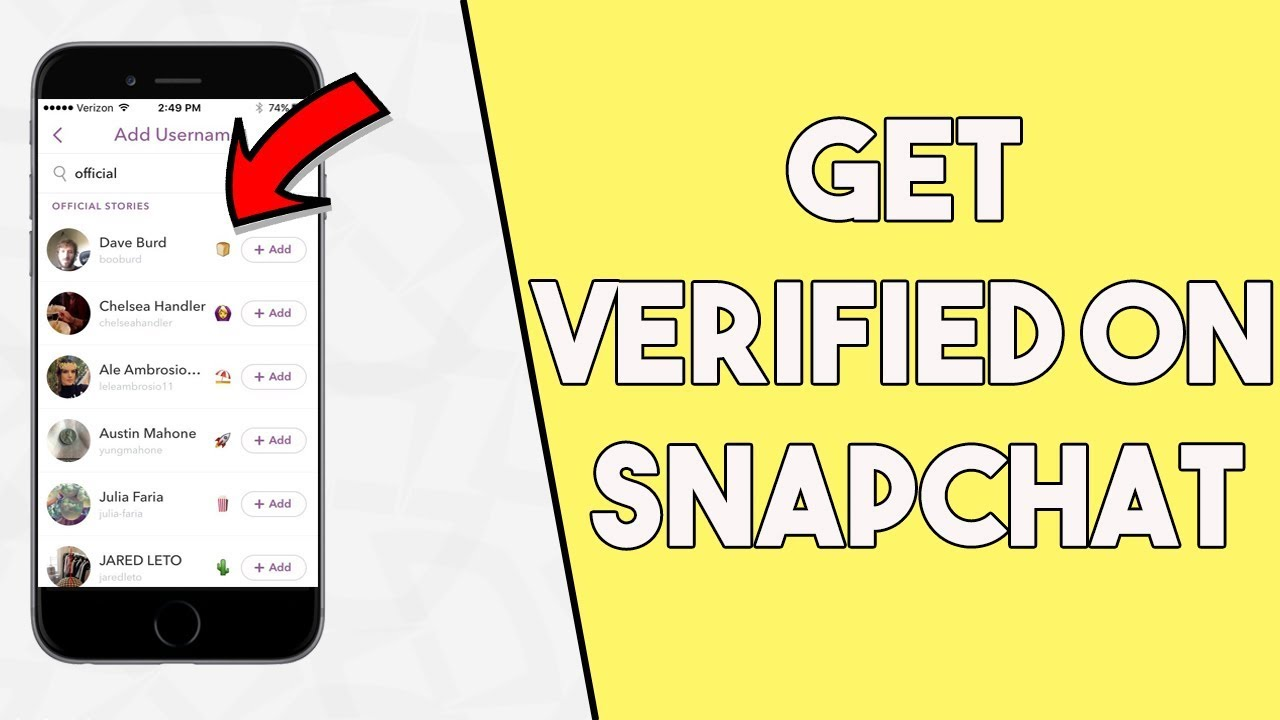 How to get verified on snapchat get a verified snapchat account how to get verified on snapchat get a verified snapchat account buycottarizona Image collections