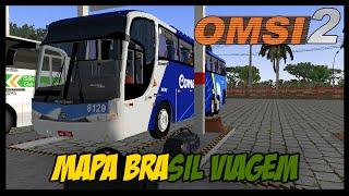OMSI 2 - Agora Com G6 - Mapa Brasil Viagem