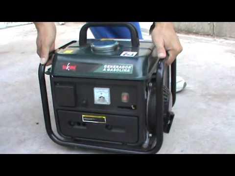 generador de luz a gasolina de 800 watts parte 2 youtube