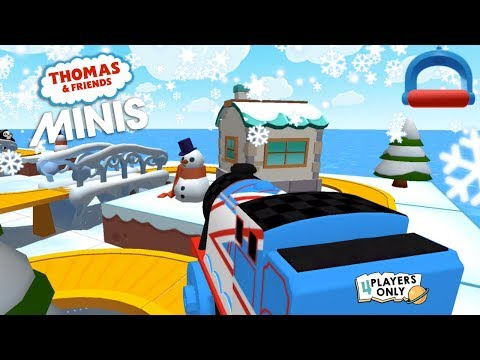 Thomas & Friends Minis #4 | Unlock RACING GORDON - The Frozen Lake SET By Budge Studios