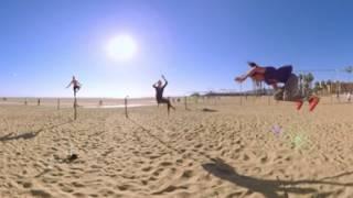 Virtual Reality: Santa Monica Beach and Bike Path