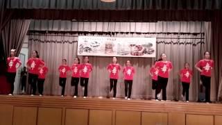 九龍灣聖若翰天主教小學校友會中國舞表演