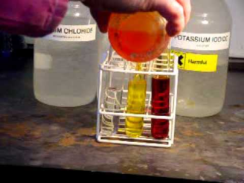 Displacement Reactions Bromine