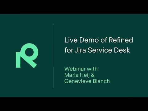 Webinar RefinedTheme for JIRA Service Desk 1.0