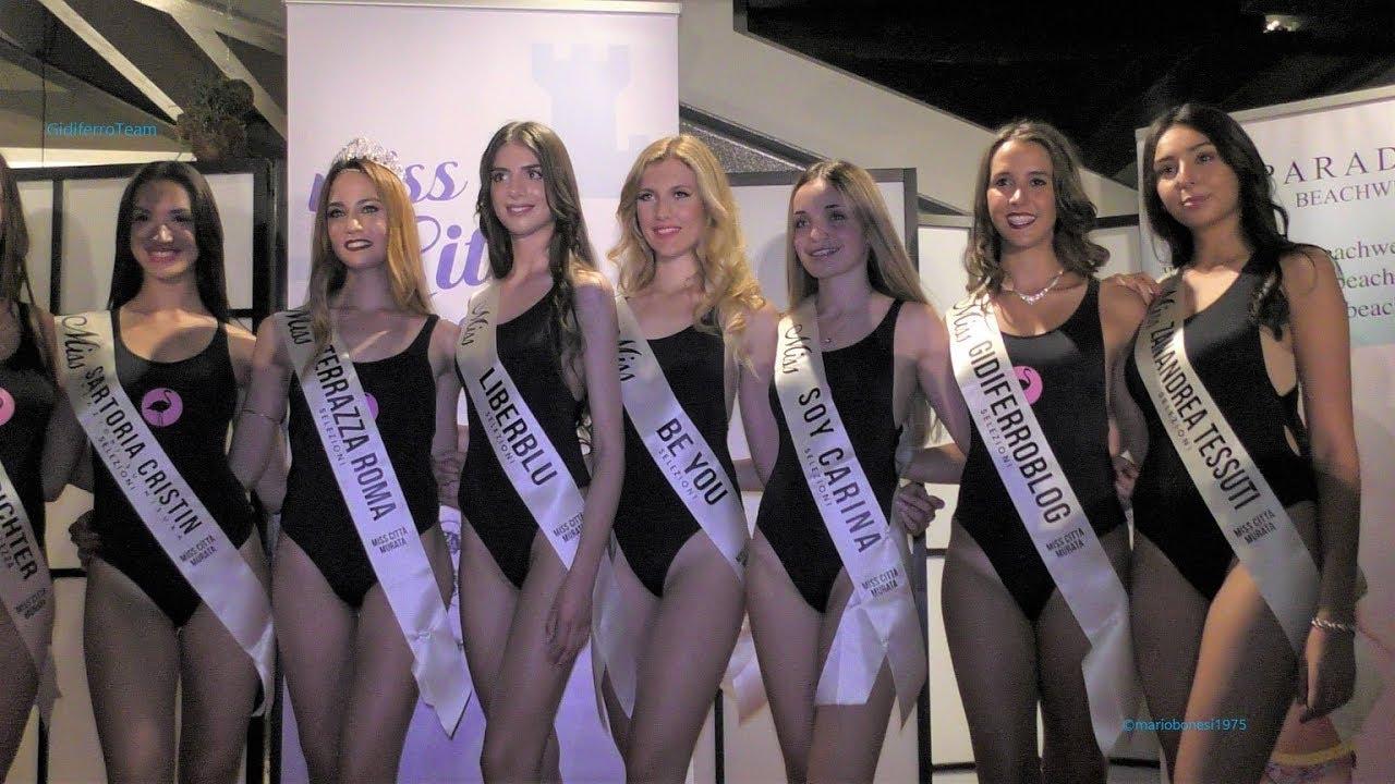 Miss Città Murata 2018 Miss Terrazza Roma 2^ Parte