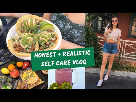 "Balancing ""treat yo self!"" with healthy eating! WHAT I ATE TODAY"