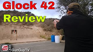 A fantastic Little Carry Pistol - The Glock 42 in .380 ACP