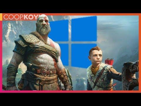GOD OF WAR PC'DE! // COOPKOYU #14