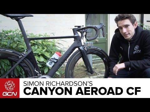 Simon Richardson's Canyon Aeroad CF SLX 9.0 | GCN Presenter's Bikes