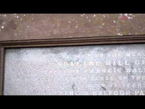 Paton Gravestones Rossie Island Cemetery Montrose Angus Scotland