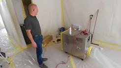 Asbstos Abatement Services Video Popcorn Ceilings