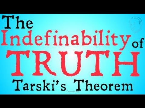 The Indefinability of Truth (Tarski