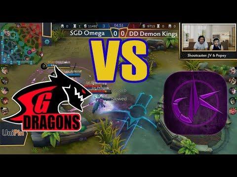 DD Demon Kings Vs SGD Omega (BO3) | Just ML League 4