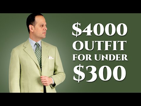 $4000+ Summer Outfit for Under $300: Techniques for Online Menswear Shopping