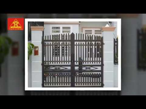 Tổng hợp mẫu cổng sắt hộp đẹp đơn giản sang trọng nhất | Sắt mỹ thuật