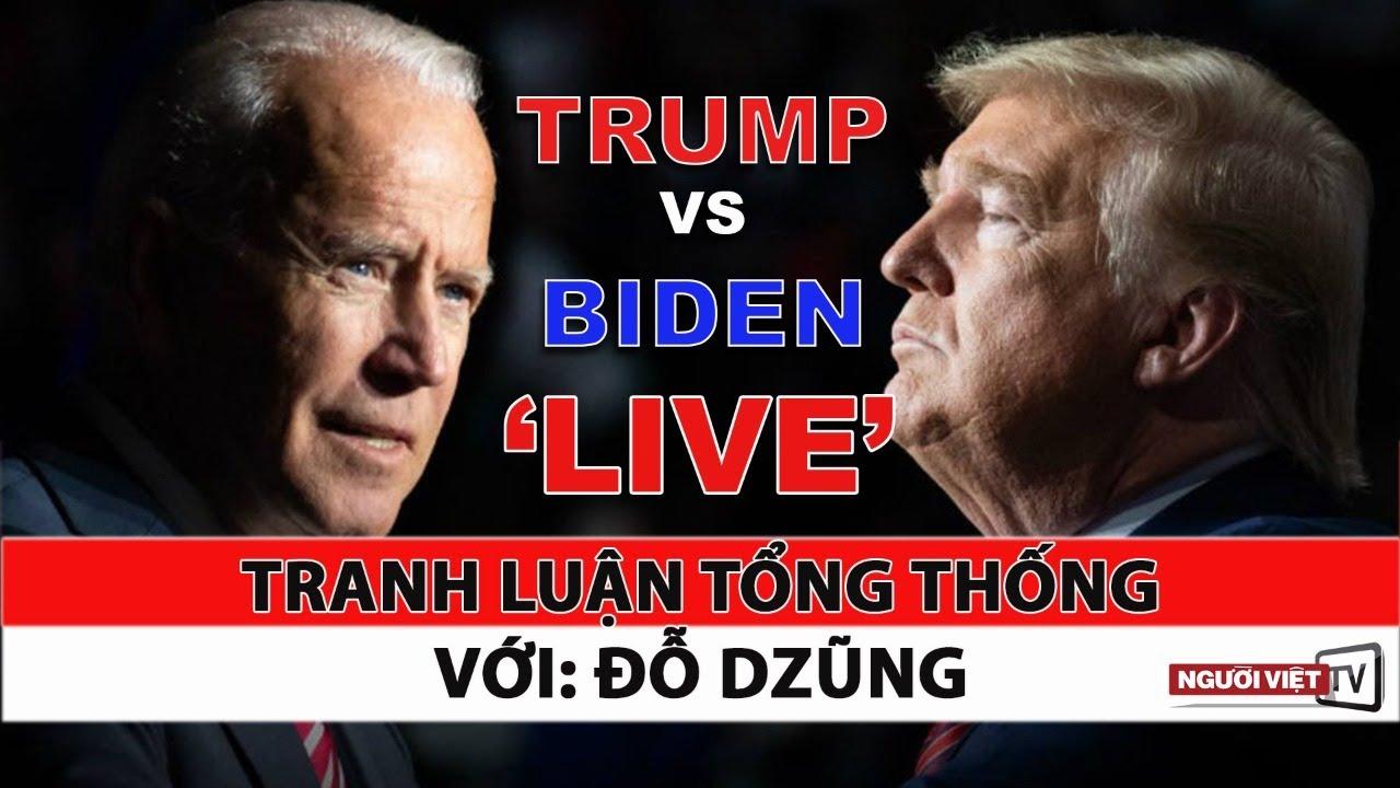 Buổi tranh luận Trump VS Biden