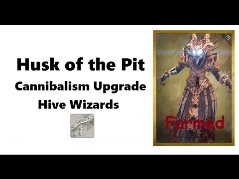 Husk of the Pit - Farming Wizards for Cannibalism upgrade. (Age of Triumph).