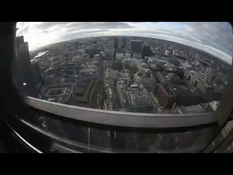 London Heron Tower Full HD Fisheye lens 2016