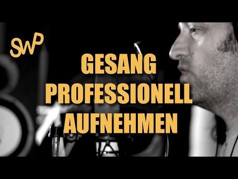 Gesang aufnehmen - Einführungsvideo