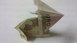 🐇 Fold Rabbit from Bill 🐇 Origami 🐇 Fold Rabbit from Money 🐇 Fold Animal from Money 🐇