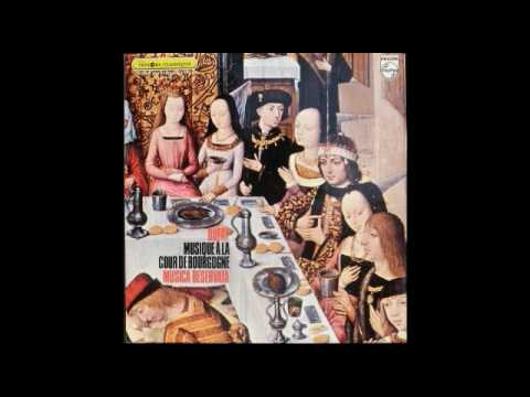 Musica Reservata ‎– Music from the Court of Burgundy (Full 1969 Album)