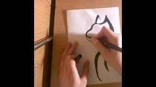 Как нарисовать кошку за 2 минуты!(Всем привет:) Это мое первое видео не суди те строго:). я вам покаж..., 2015-07-15T06:36:12.000Z)
