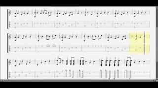 Chung sống (C) Ý Vũ guitar solo tab by D U Y