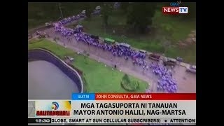 BT: Mga tagasuporta ni Tanauan Mayor Antonio Halili, nag-martsa