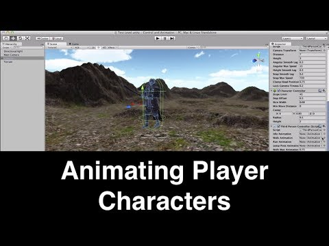 Animating a Player Character in Unity 3D