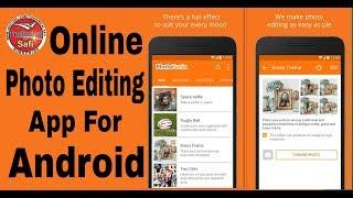 Photofunia Professional Online Photo Editing App For Android In Hindi screenshot 2