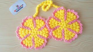 Şeker tadında nostaljik tutacak lif modeli yapımı/Çiçek lif yapılışı/Bebek lif modelleri