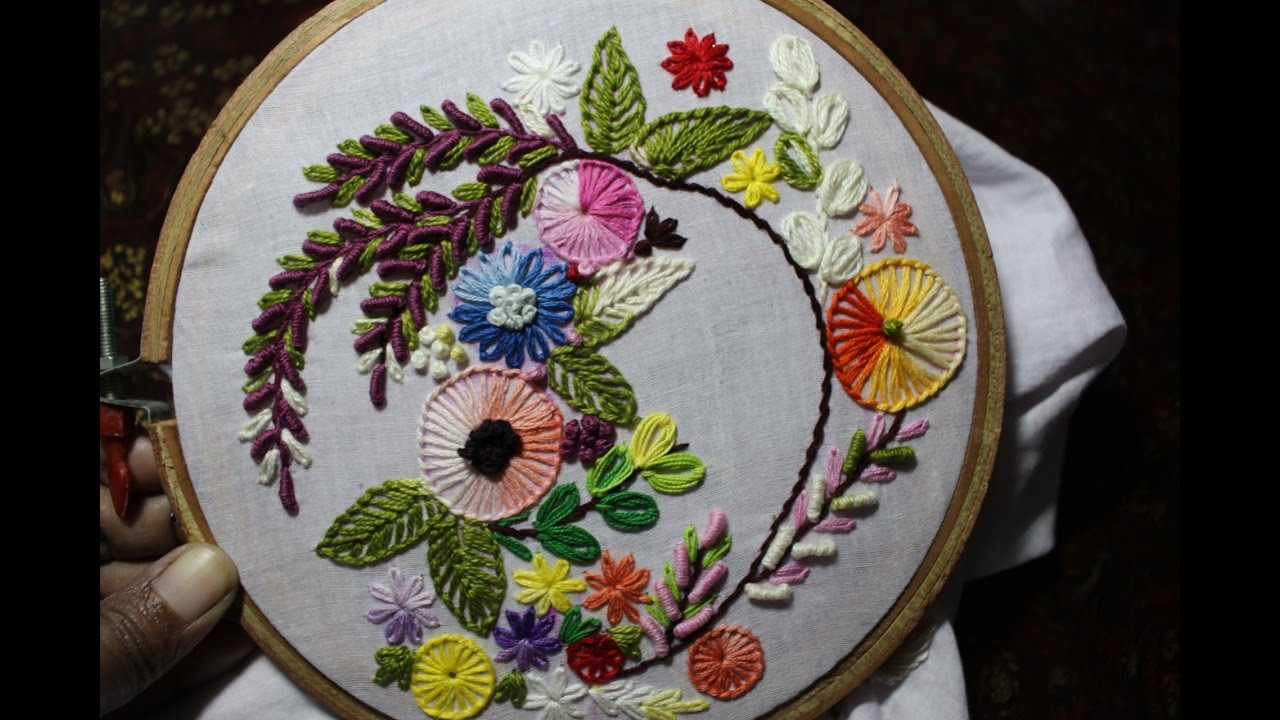 Hand Embroidery Designs Hand Embroidery Stitches Tutorial Stitch