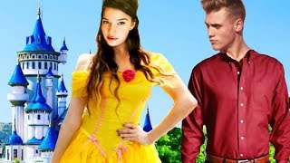 BEAUTY & THE BEAST IN REAL LIFE!!!