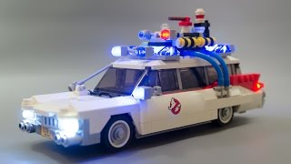 Lego 21108 Ghostbusters Ecto-1 Fully enlightened mod