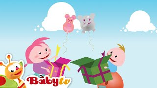 Playground Special - Train, Surprise Box, Dominoes Falling   BabyTV