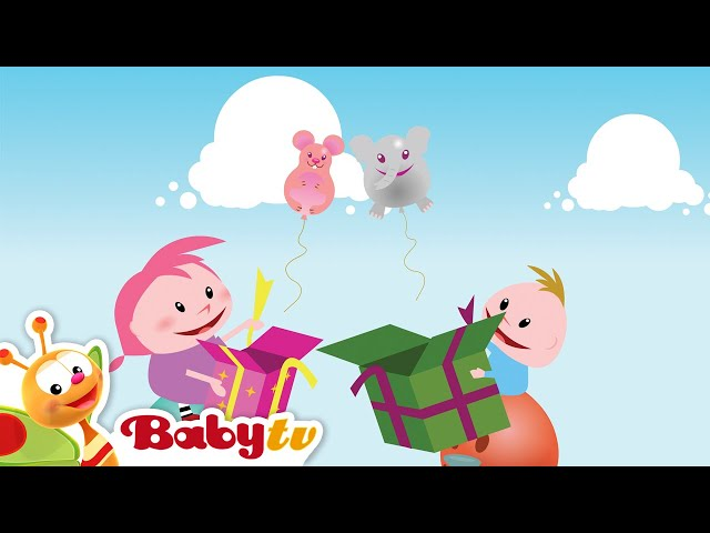 Playground Special | Train, Surprise Box, Dominoes Falling | BabyTV