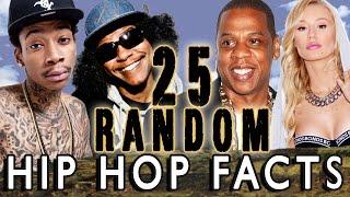 25 RANDOM HIP HOP FACTS - PART 9