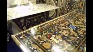 Top Marble Table Taj Mahal Work