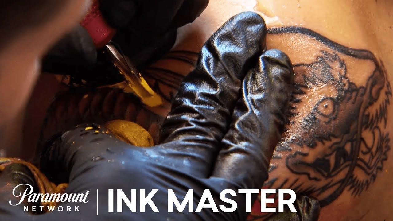 Elimination Tattoo Japanese Dragons Ink Master Season 7
