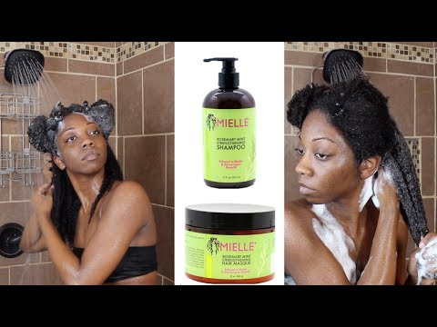 Maybe next time Mielle... | Wash Day ft. MIELLE ORGANICS ROSEMARY MINT LINE | Review & Demo Mp3