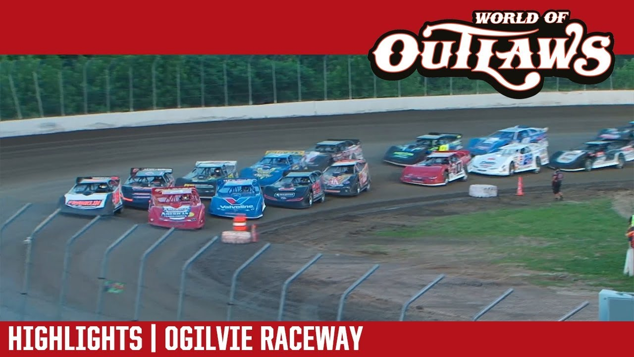 world-of-outlaws-craftsman-late-models-ogilvie-raceway-july-14-2018-highlights