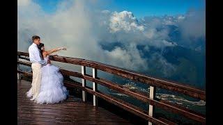 Свадьба на Красной поляне в Сочи Максима и Алены