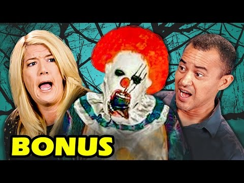 BONUS REACTIONS - PARENTS REACT TO CREEPY CLOWN SIGHTINGS COMPILATION
