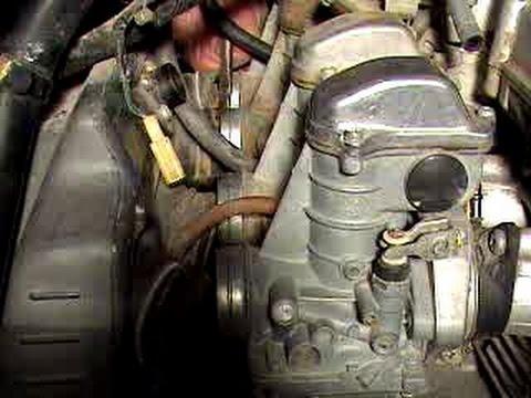 Kawasaki KZ650 CSR - carburetor removal