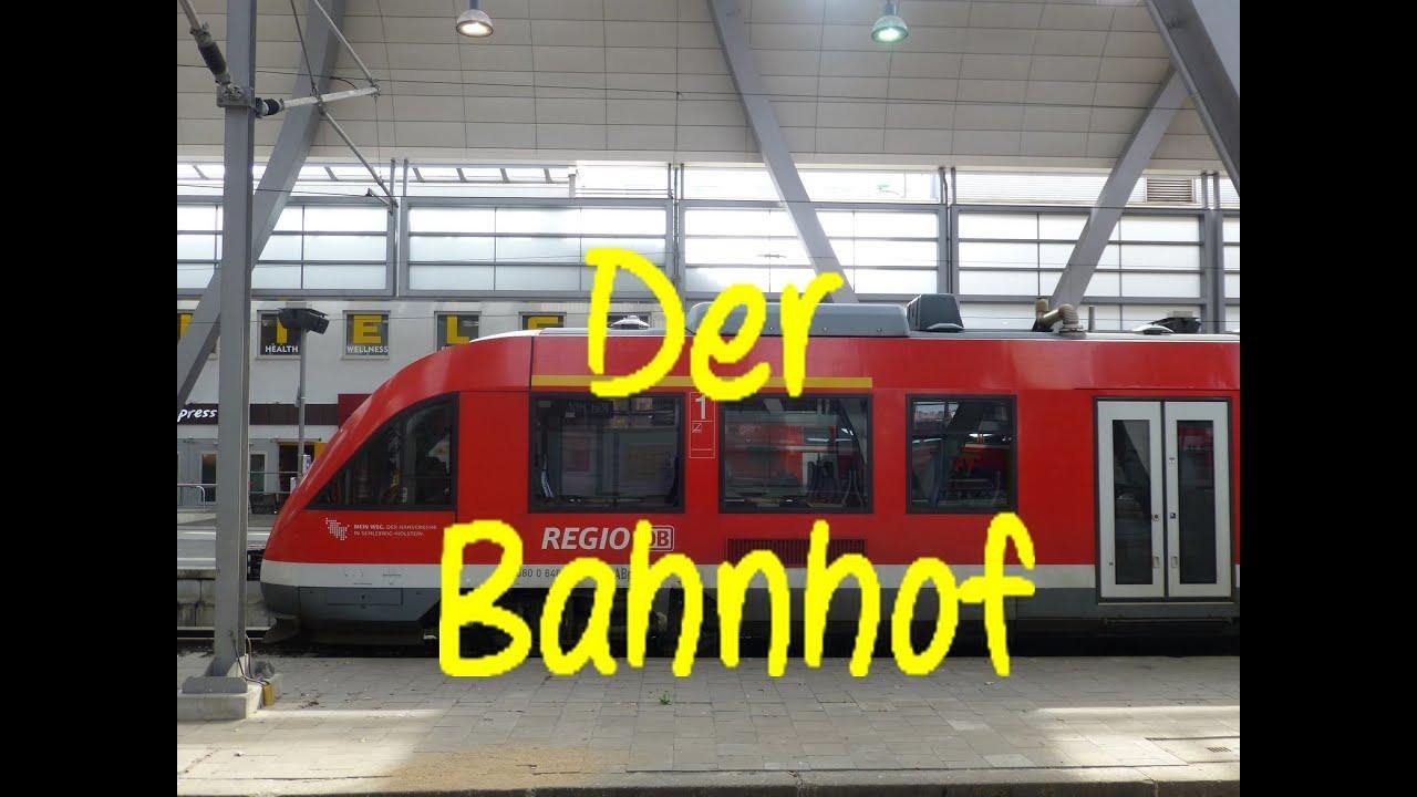 Learn German: Der Bahnhof - YouTube